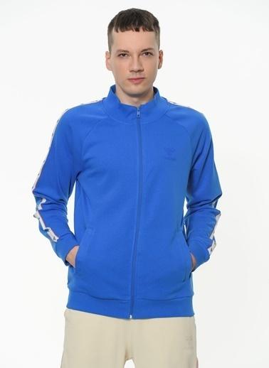 Hummel Alexıs Fermuarlı Sweatshırt Mavi